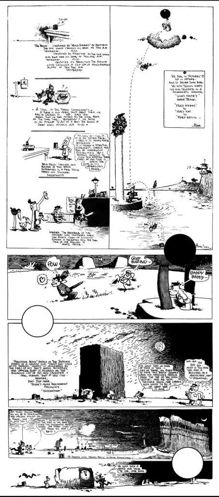Krazy Kat collage