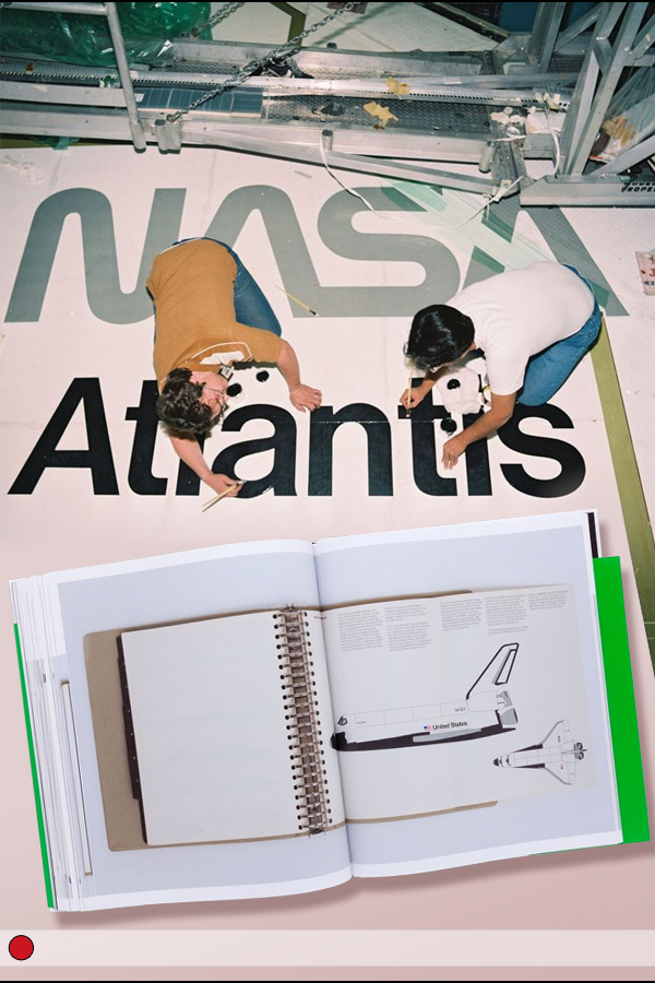 Painting atlantis logo on wing
